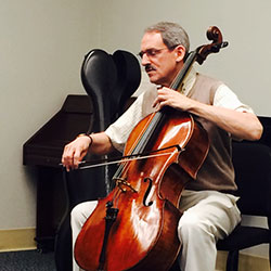 Timothy Eddy, faculty cello
